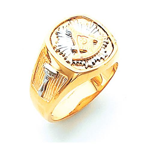 14kt Two-tone Gold Harvey & Otis Past Master Ring