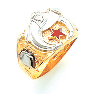 Shrine Ring - 10k Gold