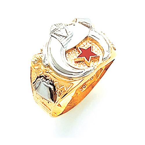 Shrine Ring - 10k Gold