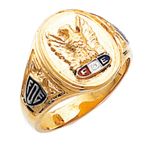 Harvey & Otis Foe Lodge Ring - 14k Gold