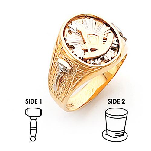 Harvey & Otis Past Master Ring - 10k Gold