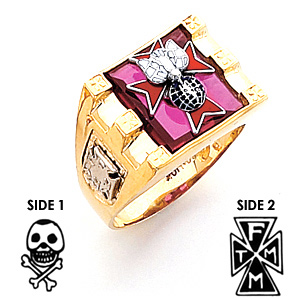 4th Degree Knights of Columbus Ring - 10k Gold