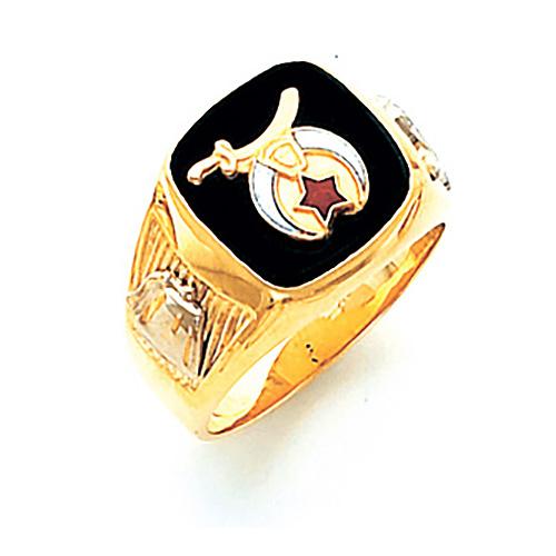14kt Yellow Gold Harvey & Otis Shrine Ring