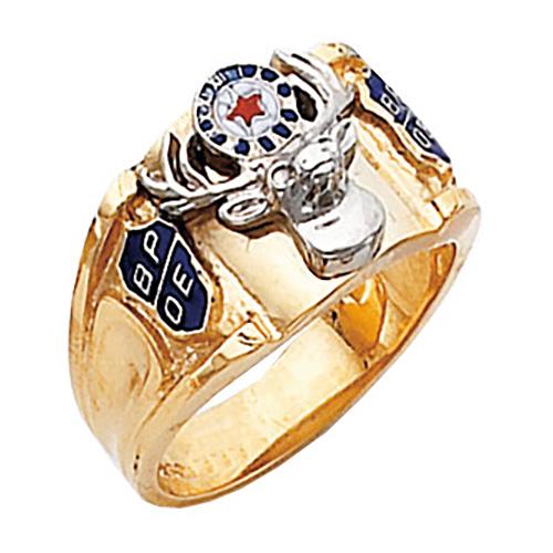 14kt Yellow Gold Harvey & Otis Elk Ring