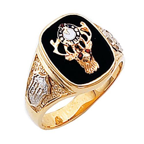 Harvey & Otis Elk Onyx Ring - 10k Gold