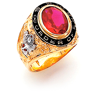 BP Order of Elks Ring - 10k Gold