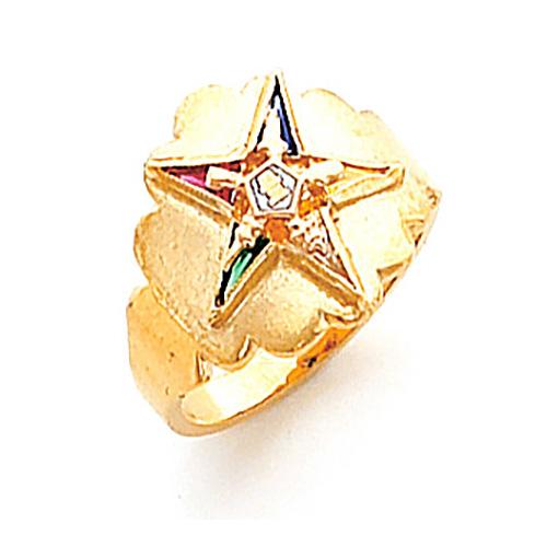 Fancy Eastern Star Ring - 10k Gold