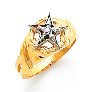 Eastern Star Ring - 14k Gold