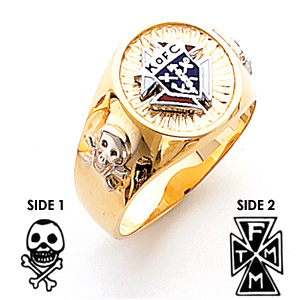 3rd Degree Knights of Columbus Ring - 14k Gold