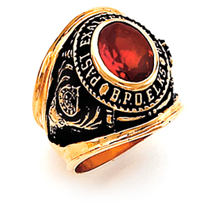 Past Exalter Elks Ring - 14k Gold