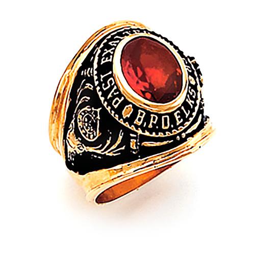 Past Exalter Elks Ring - 10k Gold