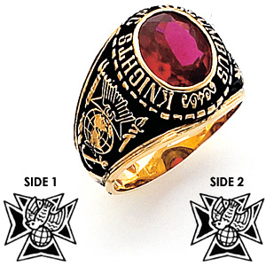 4th Degree Knights of Columbus Ring - 14k Gold