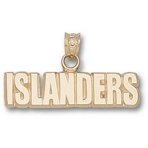 New York Islanders 1/4in Pendant - 10k Gold