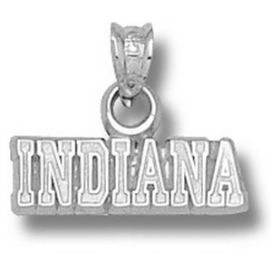 Sterling Silver Indiana University INDIANA Pendant