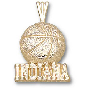 Indiana Hoosiers 3/4in 14k Basketball