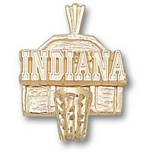 Indiana Hoosiers 5/8in 14k Backboard