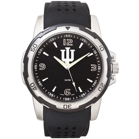 Indiana University Stealth Men's Sport Watch