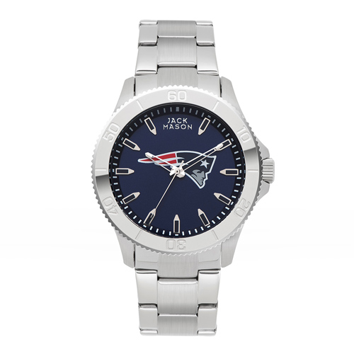 Jack Mason New England Patriots Sport Bracelet Watch