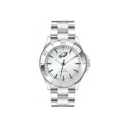 Jack Mason Philadelphia Eagles Silver Sport Bracelet Watch