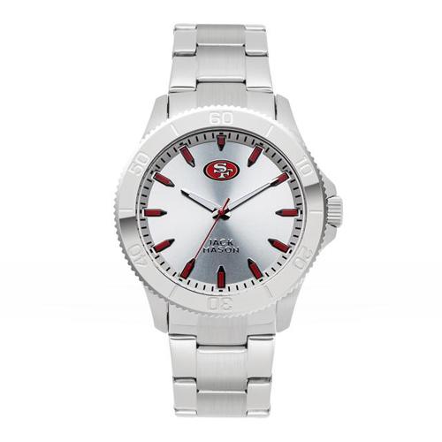 Jack Mason San Francisco 49ers Silver Sport Bracelet Watch