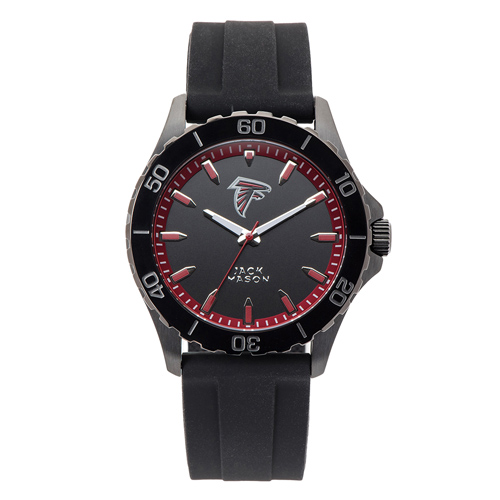 Jack Mason Atlanta Falcons Silicone Strap Watch