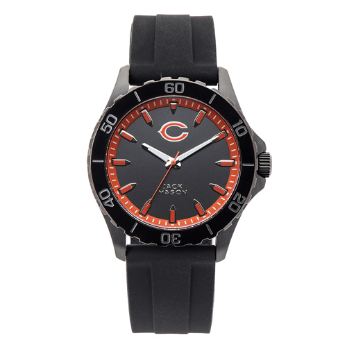 Jack Mason Chicago Bears Silicone Strap Watch