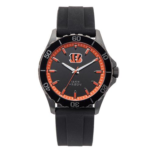 Jack Mason Cincinnati Bengals Silicone Strap Watch