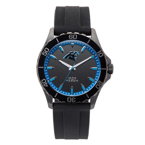 Jack Mason Carolina Panthers Silicone Strap Watch