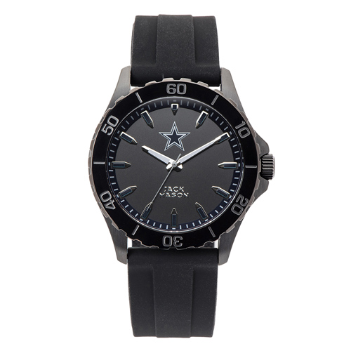 Jack Mason Dallas Cowboys Silicone Bracelet Watch