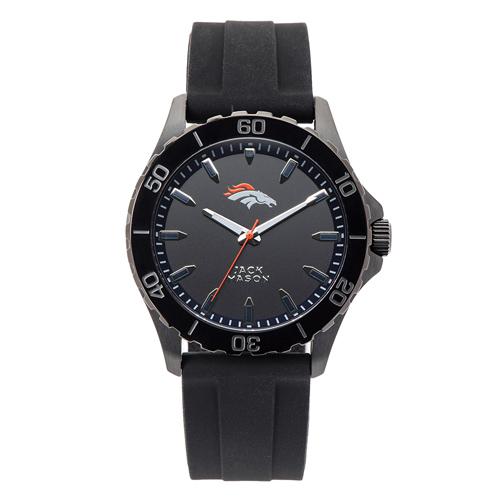 Jack Mason Denver Broncos Silicone Strap Watch