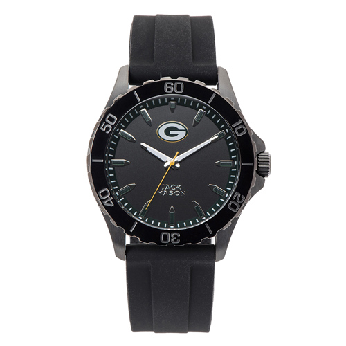 Jack Mason Green Bay Packers Silicone Strap Watch
