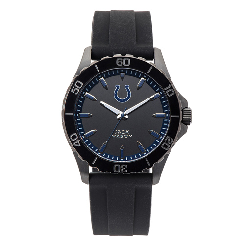 Jack Mason Indianapolis Colts Silicone Strap Watch