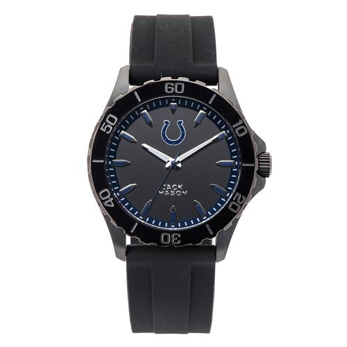 Jack Mason Indianapolis Colts Silicone Strap Watch