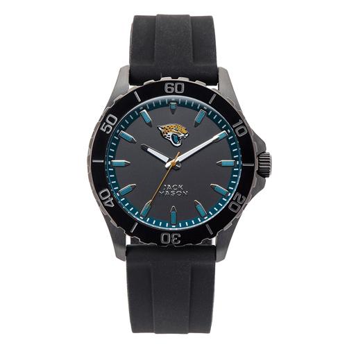 Jack Mason Jacksonville Jaguars Silicone Strap Watch