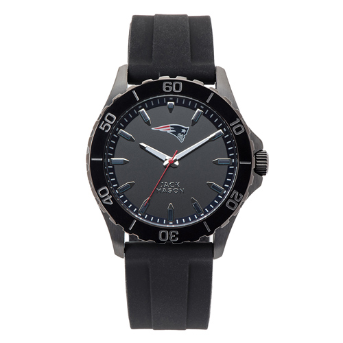 Jack Mason New England Patriots Silicone Strap Watch