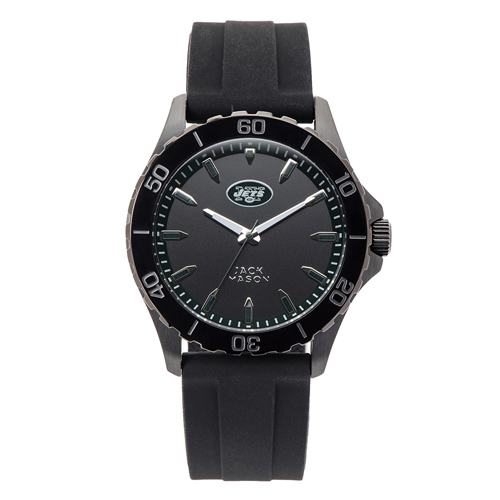 Jack Mason New York Jets Silicone Strap Watch