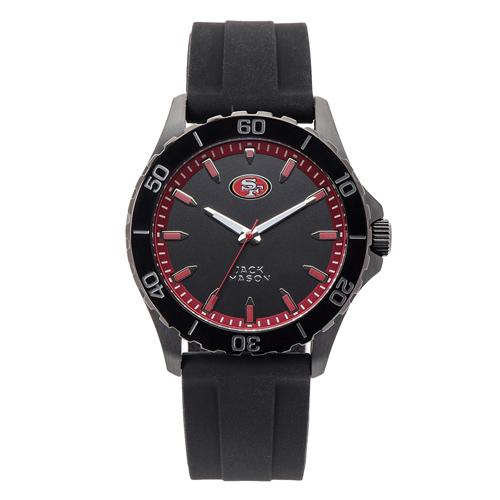 Jack Mason San Francisco 49ers Silicone Strap Watch