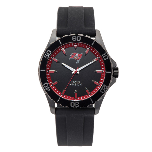 Jack Mason Tampa Bay Buccaneers Silicone Strap Watch