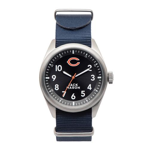 Jack Mason Chicago Bears Men's Nylon Strap Watch
