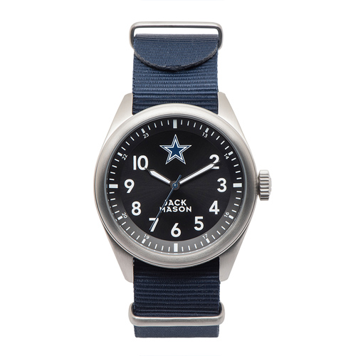 Jack Mason Dallas Cowboys Men's Nylon Strap Watch