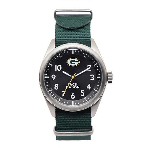 Jack Mason Green Bay Packers Men's Nylon Strap Watch
