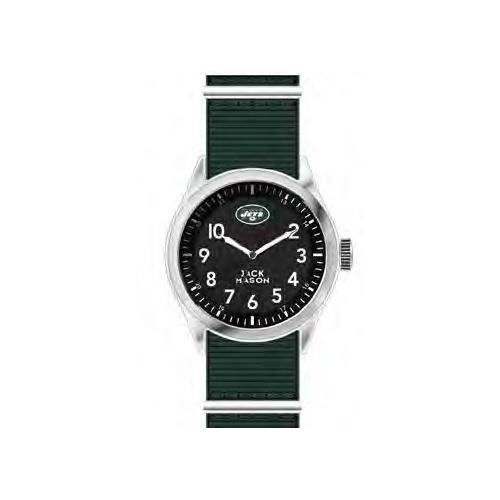 Jack Mason New York Jets Men's Nylon Strap Watch