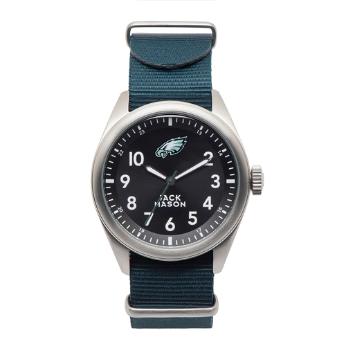 Jack Mason Philadelphia Eagles Men's Nylon Strap Watch