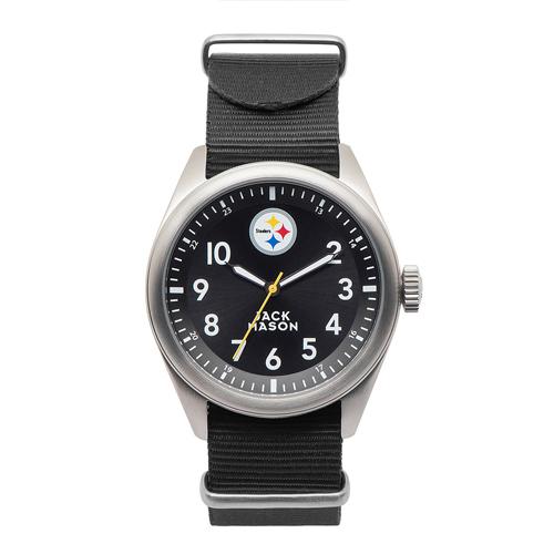 Jack Mason Pittsburgh Steelers Men's Nylon Strap Watch