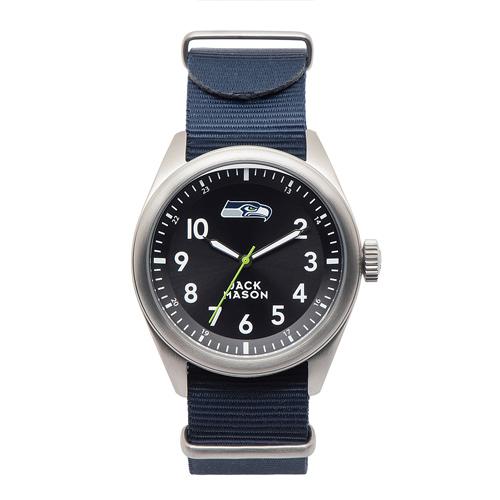 Jack Mason Seattle Seahawks Men's Nylon Strap Watch