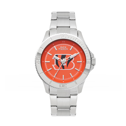 Jack Mason Cincinnati Bengals Ladies' Sport Bracelet Watch