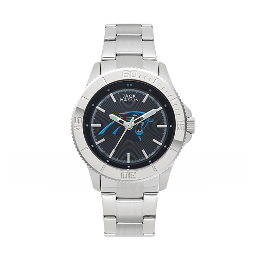 Jack Mason Carolina Panthers Ladies' Sport Bracelet Watch