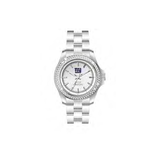 Jack Mason New York Giants Ladies' Steel Watch with Swarovski Crystals