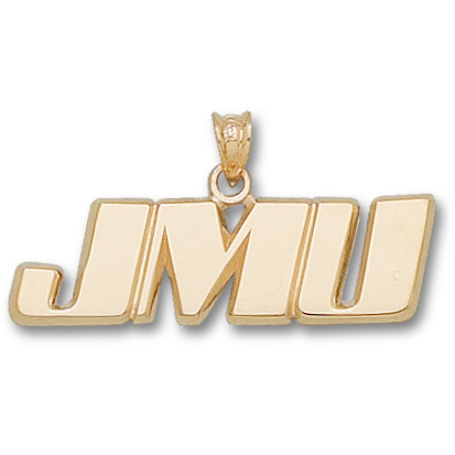 James Madison U 3/8in Pendant 10kt Yellow Gold