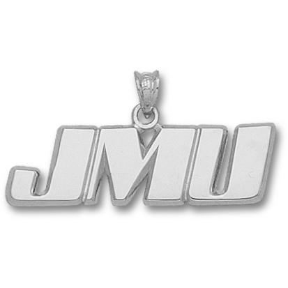 James Madison U 3/8in Pendant Sterling Silver